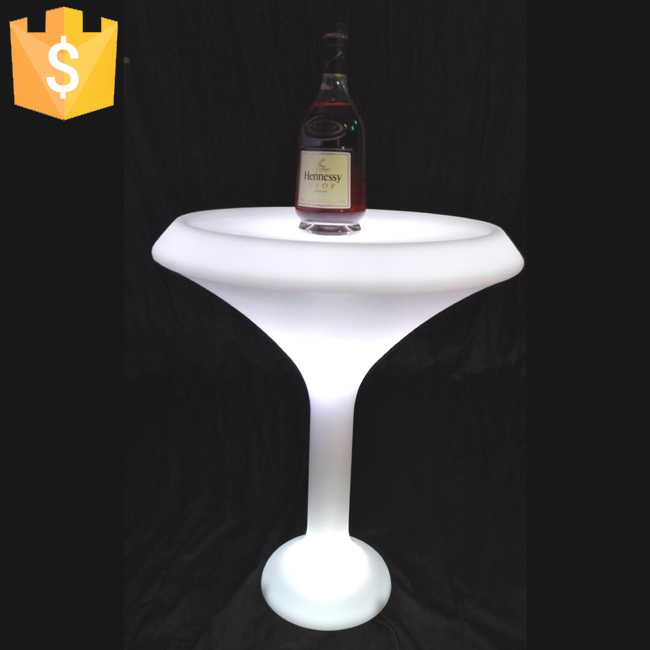 Online buy wholesale cooler bar table from china cooler for Cocktail tables led