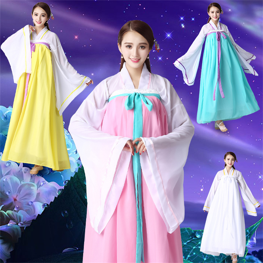 New Traditional Korean Hanbok For Women Dress Dance Ancient Costume Stage Performance Clothing Festival Outfit S-2XL