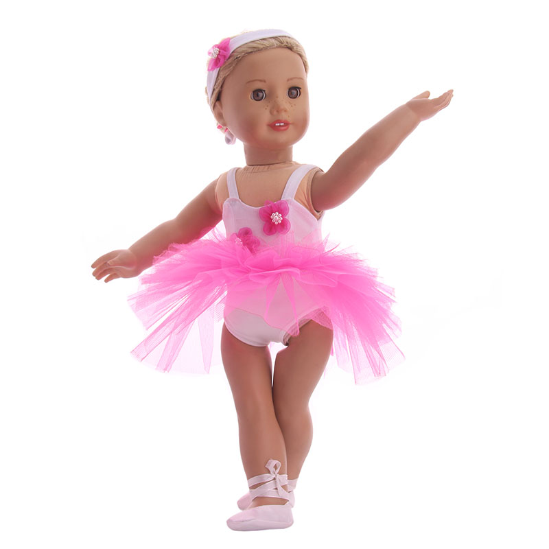 Aliexpresscom  Buy Doll Clothes Ballet Skirt  Shoes -2127