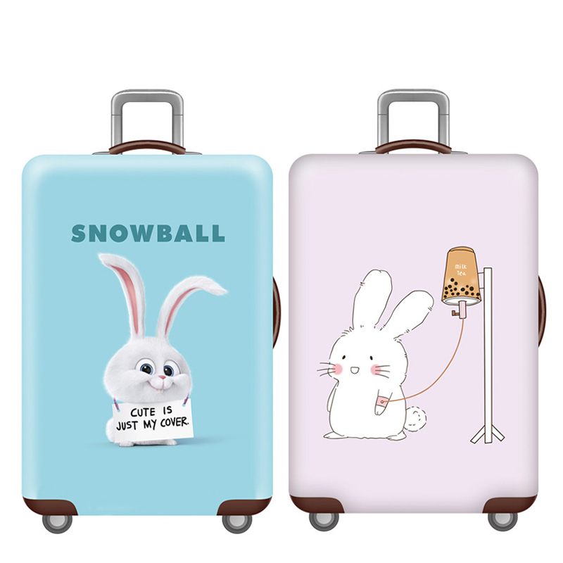 Animal Pattern Luggage Protective Covers Luggage Cover Elasticity Dust Cover For 18-32 Inch Suitcase Case Travel Accessories