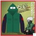 Hot Anime Naruto! Free Shipping Naruto Hatake Kakashi Cospaly Costume Nara Shikamaru Jonin Cospaly Costume Hoodies Sweatshirts