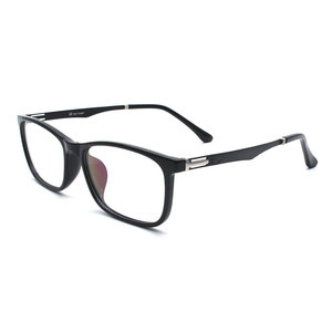 Image 5 - TR 90 Kunststoff Brillen Rahmen Männer Mode Optische Myopie Rezept Klar Computer Brillen Rahmen X2005 Rahmen Brille