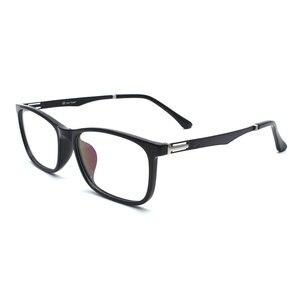 Image 5 - TR 90 플라스틱 안경 프레임 남자 패션 광학 근시 처방 명확한 컴퓨터 안경 프레임 x2005 프레임 안경