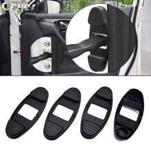 Ceyes ограничитель на дверной замок ограничительная крышка Abs наклейка подходит для Nissan Qashqai X J10 J11 Trail Tiida Juke Авто Рычаг Пряжки стайлинга автомобилей