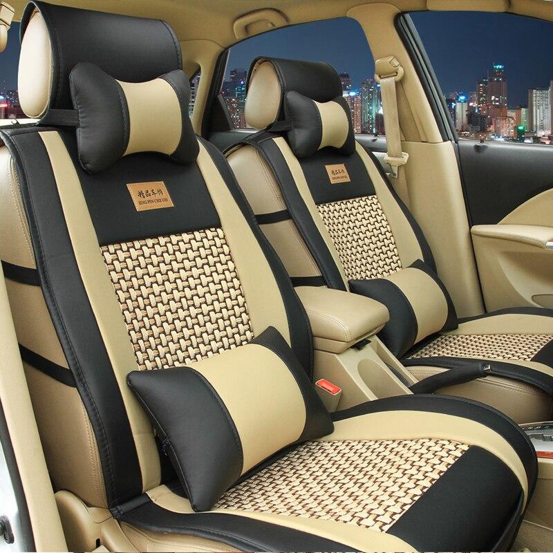 5 Seats Car Seat Cover Fit Cadilac Seville Sls/ats-l/ct6/ct6 Plug-in/xt5/xts/ats/cts/srx Car-styling Automobiles Seat Covers