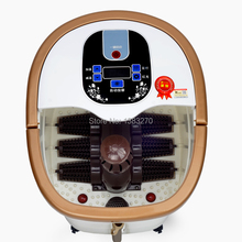 Electric foot care massage bath feet tub electric foot basin heated massager machine