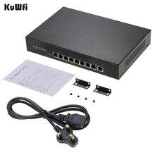 9พอร์ต10/100Mbps Network Switch IEEE 802.3af POE Switchเครือข่ายFast Power15.4W/30W Over Ethernetสำหรับกล้อง/AP