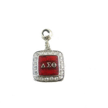 SORORITY GREEK  Delta Sigma Theta DST  enamel  charm with Ring  10pcs 1 lot