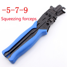 5 7 9 Squeeze Clamp/RG6/RG11 Crimping Tool/Cable TV F Head Special Production Tool