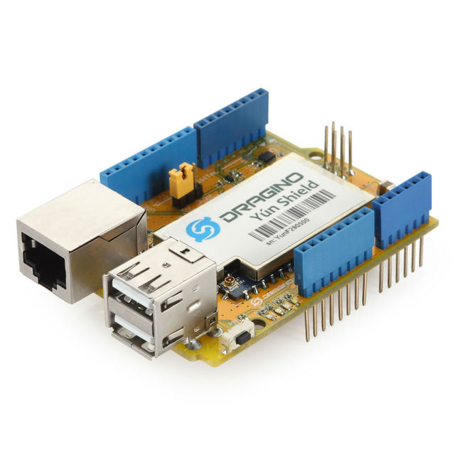 Linux wifi ethernet usb all in one shield for arduino