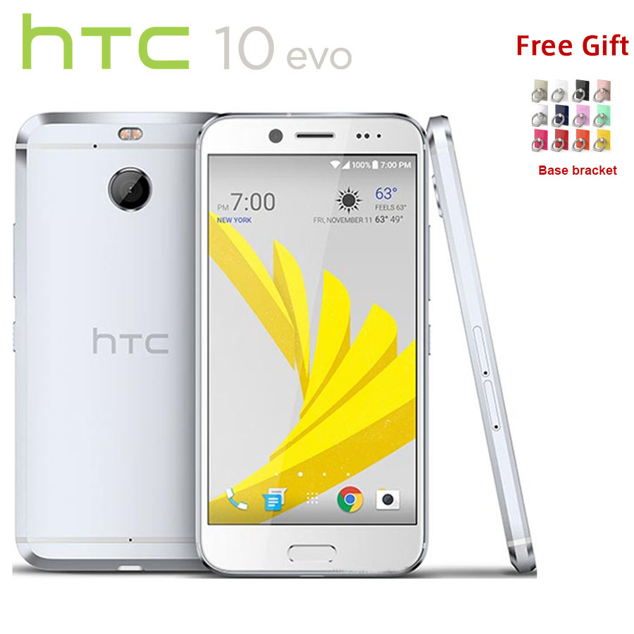 Original HTC 10 EVO 4G LTE 5.5 inch Mobile Phone 3GB RAM 32GB/64GB ROM Snapdragon 810 16MP Android 7.0 Fingerprint Smartphone image