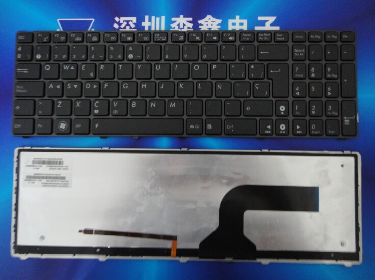 100  New And Original Spain Keyboard For Asus G51 G51j