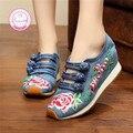 Mulheres sapatos casuais 35-40 confortável primavera/moda outono respirável sapatos de caminhada das mulheres