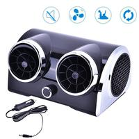 12V24V AC DC Electric Car Cooling Fan Dual purpose Motor Car Fan Low Noise Portable Desktop Cooler For Vehicle Truck RV SUV Boat