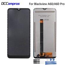 Oryginalny dla Blackview A60 wyświetlacz LCD z ekranem dotykowym montaż części naprawa dla Blackview A60 Pro ekran wyświetlacz LCD części do telefonów