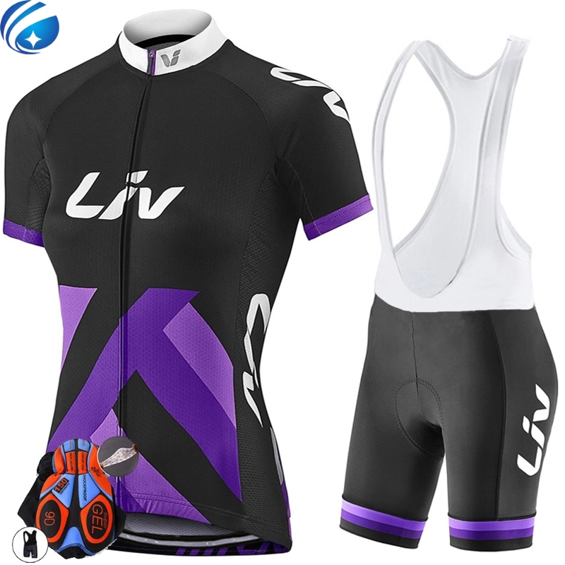 Liv Cycling jersey women ropa ciclismo mujer short sleeve maillot ciclismo mtb bike clothing cycling clothes China bicycle