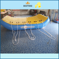 inflatable flying fish floating towable water sports games inflatable water game