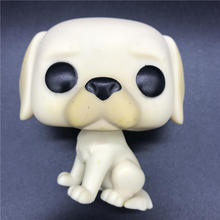 Labrador Retriever model toy Golden Lab - Pops Pets Dog  Vinyl Action Figures Collectible Model Toy gift