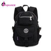 JINQIAOER Waterproof Nylon Schoolbag Ladies Backpacks Student School Bag Laptop Backpack Teenage Shoulder Mochilas Ruchsack YM79