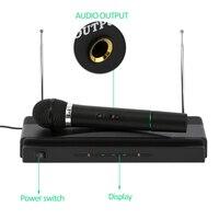 Dual Professional Wireless Microphone with Receiver for BM 800 Karaoke Microphone Party KTV Studio DJA99