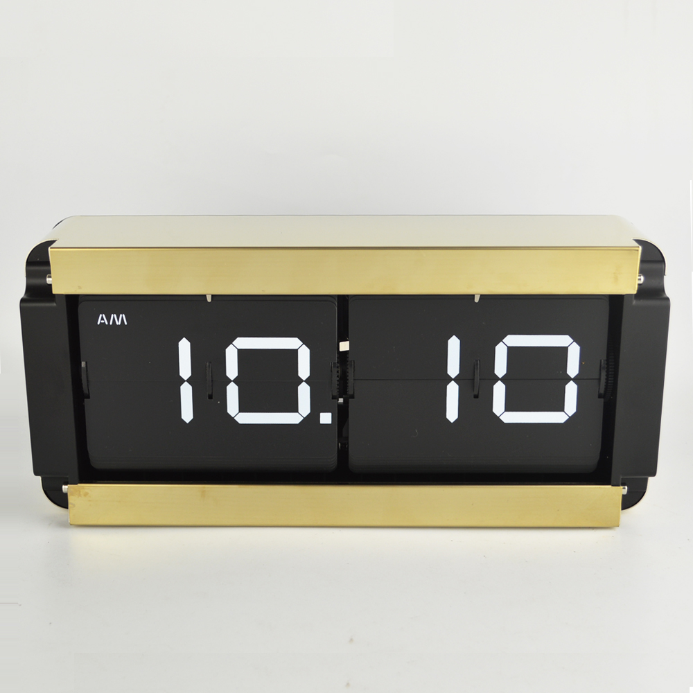 Buy flip wall clock and get free shipping on aliexpress amipublicfo Choice Image