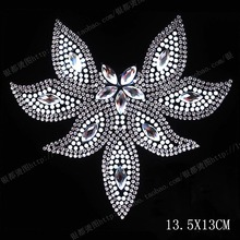Buy flower crystal iron on transfer and get free shipping on ... 5389943b53b4