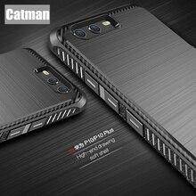 Huawei P10 чехол оригинальный catman бренд новый дизайн матовый роскошный антидетонационных 360 Степень защиты броня для Huawei P10 плюс
