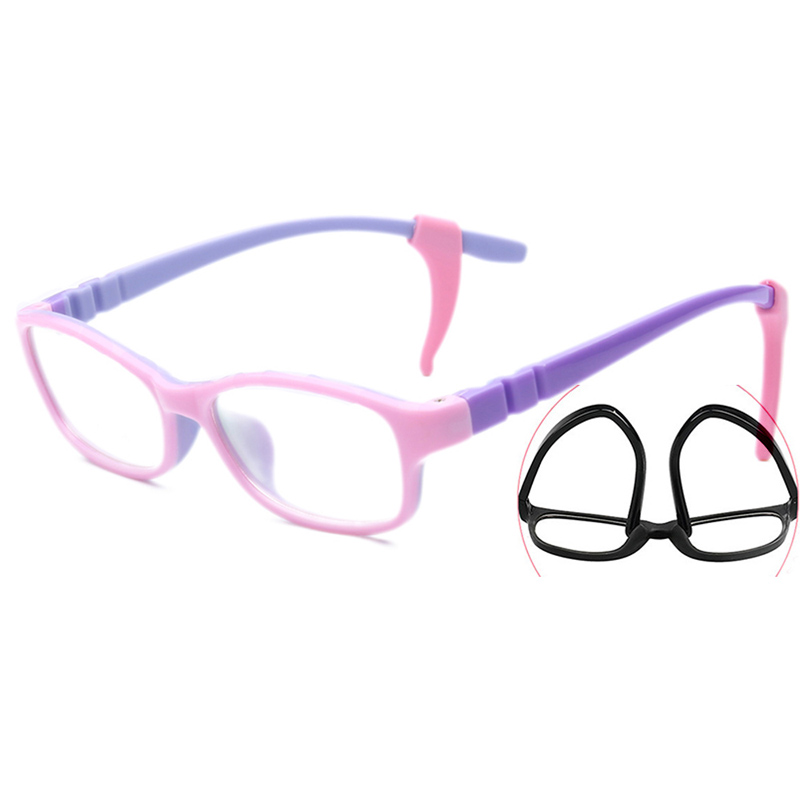 6292285aaf Silicone Hook Teen Glasses frame for children Kids frames Kid glasses girls  Child TR90 Children Optical