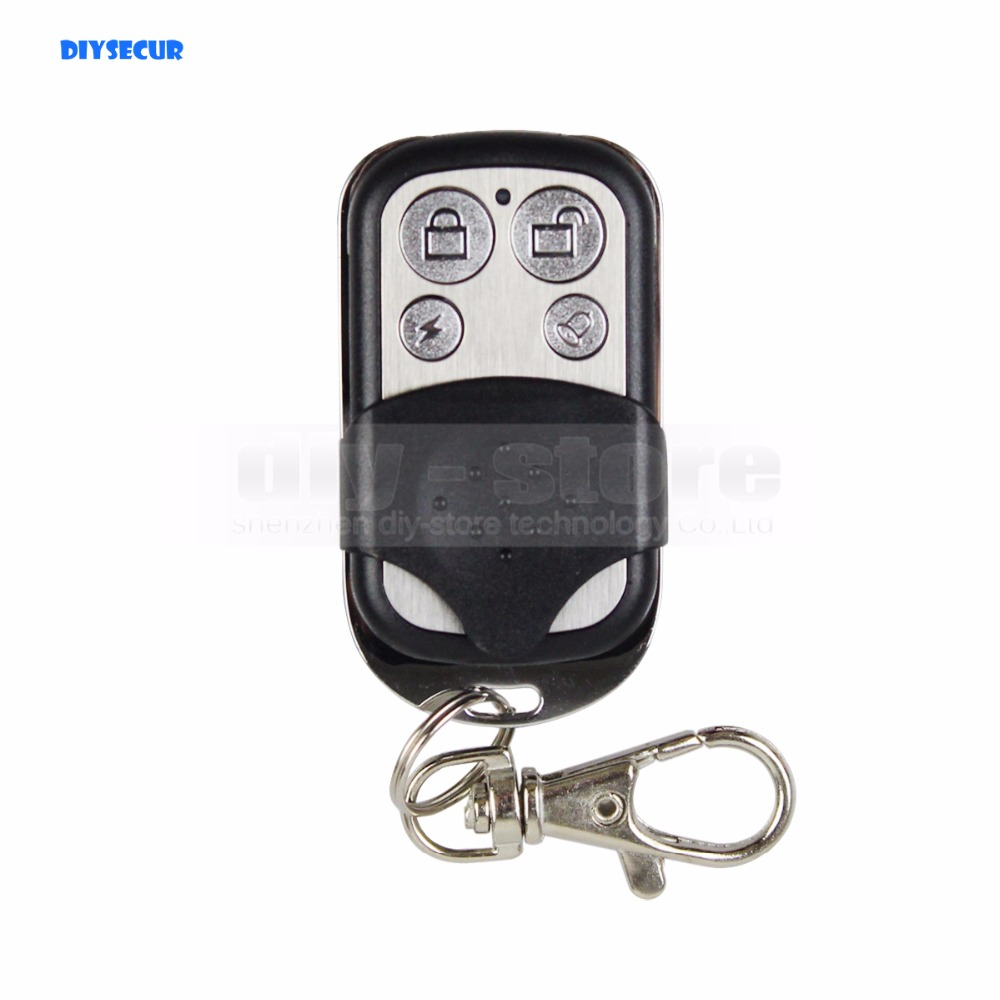 DIYSECUR DIY K3 Wireless 433Mhz Keyfobs Remote Control for Our Related Home font b Alarm b