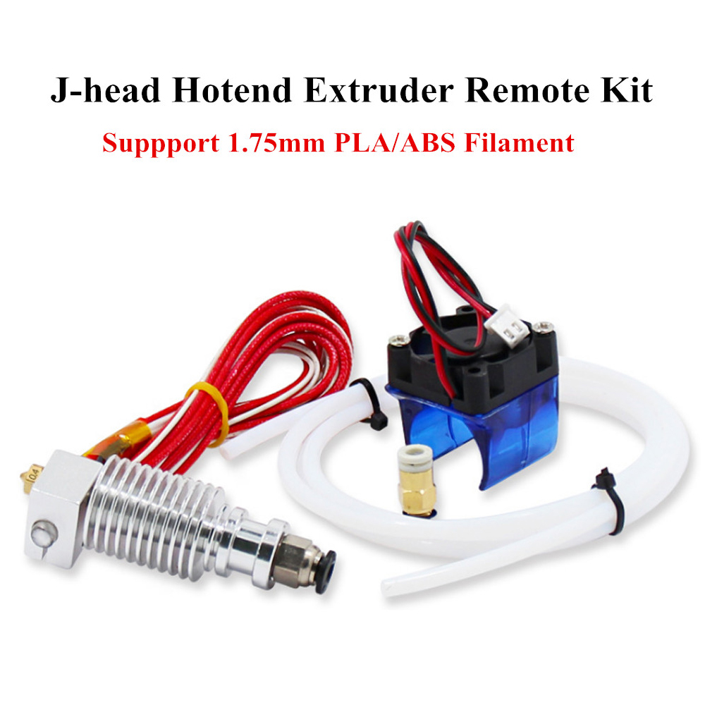 0.4mm J-head Hotend Extruder Remote Kit Voor V6 Remote Kit Suppport 1.75mm Pla/abs Filament Met Ventilator + Fan Cove Om Een Gevoel Op Gemak En Energiek Te Maken