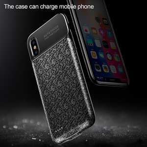 Image 2 - Baseus 3500mAh Power Bank Charging Case  For iPhone X Ultra Slim Battery Charger Case  for iPhone X Power Bank Charger Case