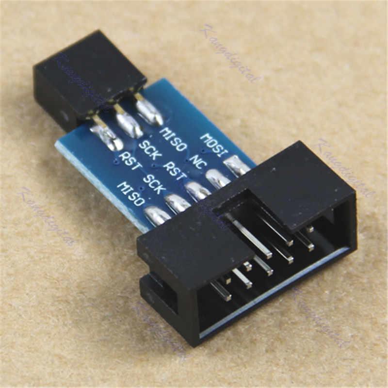 ISP Interface Board Port Module 10Pin Convert To Standard 6 Pin Adapter Board For Ardno Development Board