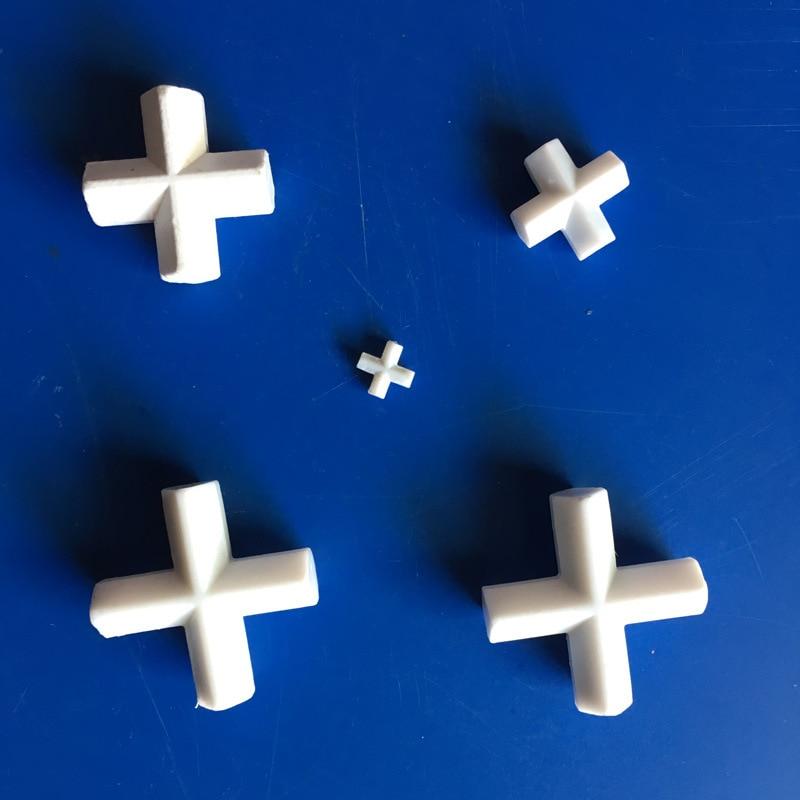 PTFE Magnetic Stirrer Bar Stir Mixer PTFE Cross Shape Stirring Bars 10/20/25/30/38/42/50mm White Teflon Spin Bars, 1pcs