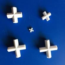 цена PTFE Magnetic Stirrer Bar Stir Mixer PTFE Cross Shape Stirring Bars 10/20/25/30/38/42/50mm White Teflon Spin Bars, 1pcs онлайн в 2017 году