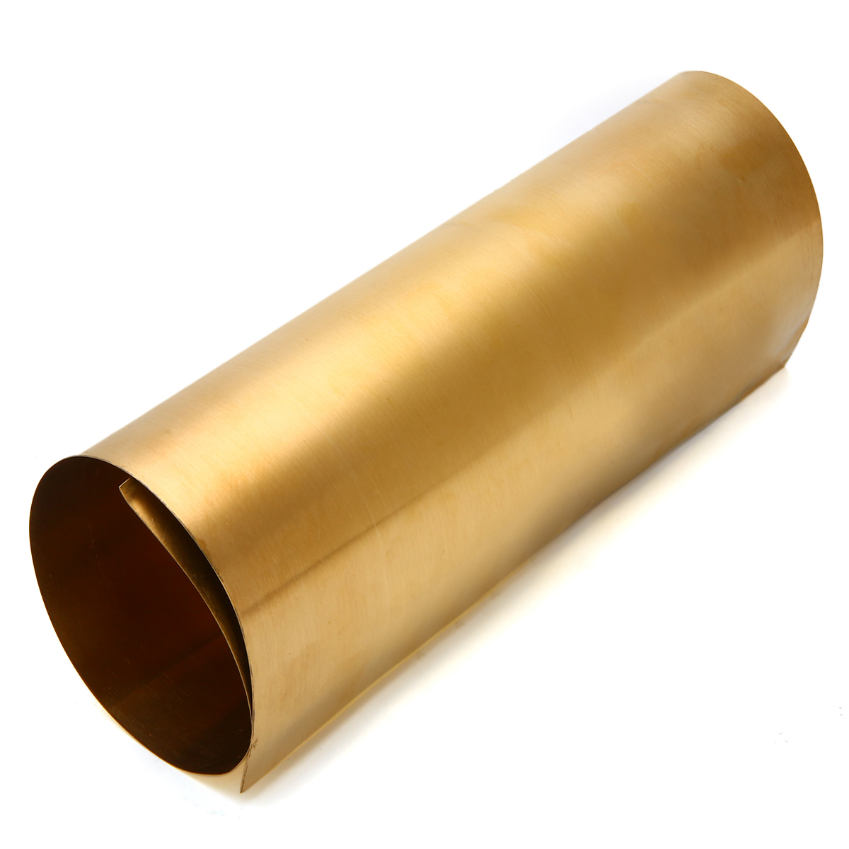 1pc 0.2mm Thickness Brass Metal Thin Sheet Foil Plate Shim 200mmx300mm For Metalworking