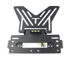 Motorcycle Accessories Registration Plate Holder Aluminum Fender Eliminator License Light For Suzuki Yamaha Honda