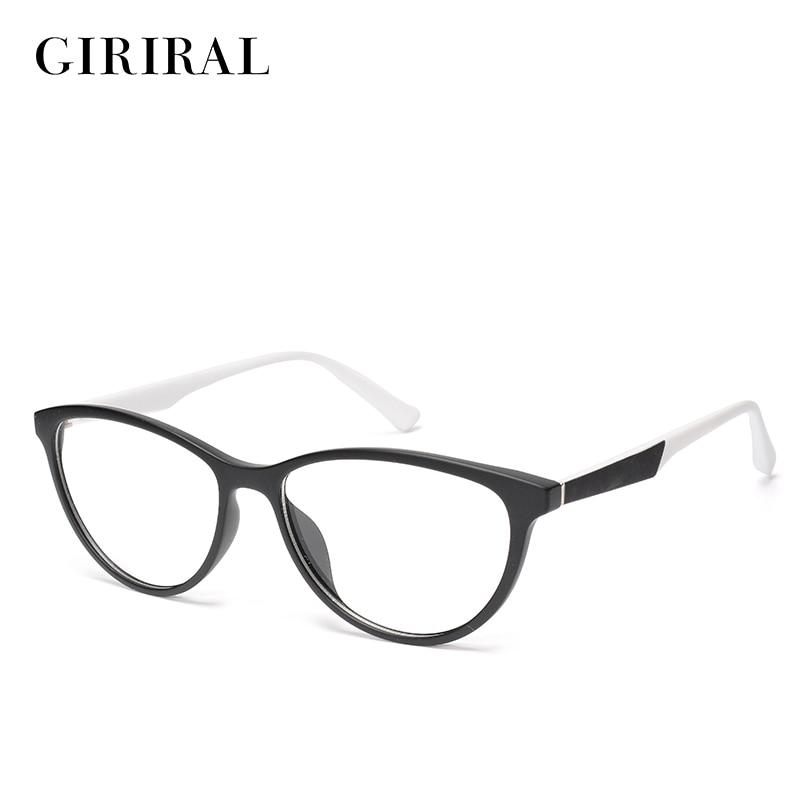 2018 Tr90 Frauen Brillen Rahmen Katze Auge Optische Retro Transparent Marke Klar Vintage Mode Brillen Rahmen #1-yx0328-3 Ungleiche Leistung
