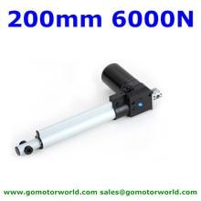 6000N нагрузки 42 мм/сек. скорость 200 мм ход больничной койке электрическое кресло-кровать Мотор 12V 24V DC Линейный приводной двигатель