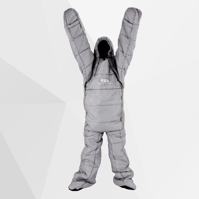 New Arrival High Quality Cotton Filling Single Person 3 Season Ultralarge Comfortable Waterproof Sleeping Bag Sacos De Dormir