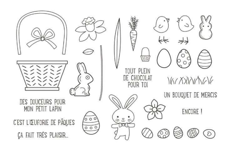 Easter bunny Transparent Clear Silicone Stamp/Seal for DIY scrapbooking/photo album Decorative clear stamp sheets A872 lovely animals and ballon design transparent clear silicone stamp for diy scrapbooking photo album clear stamp cl 278