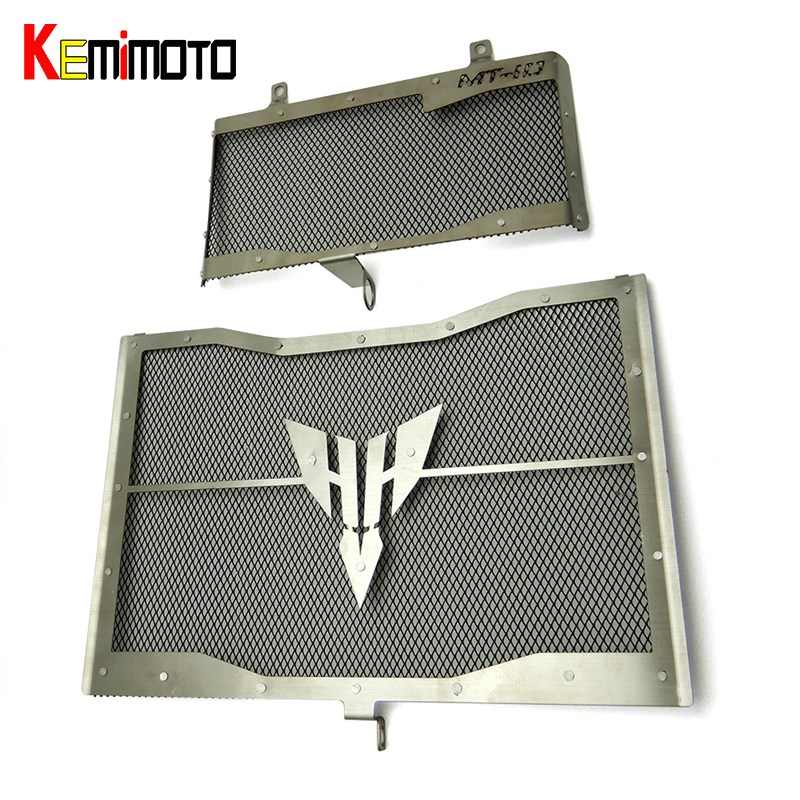 MT10 FZ10 MT-10 FZ-10 accessories 2016 2017 Radiator Grill Grille Guard Cover Protector For YAMAHA MT 10 FZ 10 2016 2017 motorcycle radiator grill grille guard screen cover protector tank water black for bmw f800r 2009 2010 2011 2012 2013 2014
