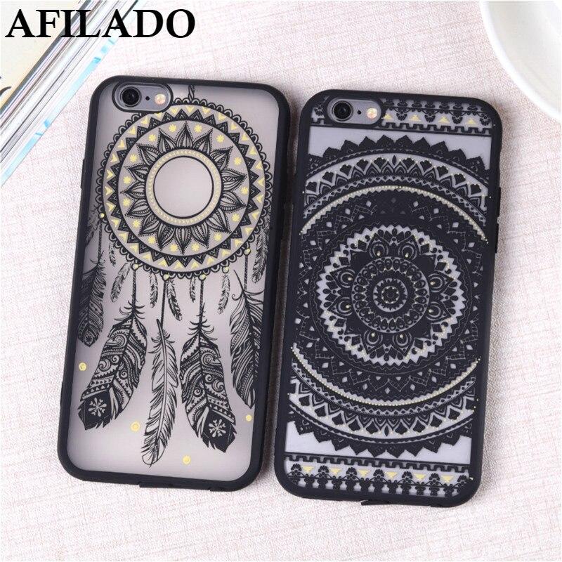 coque iphone 6 mandala silicone