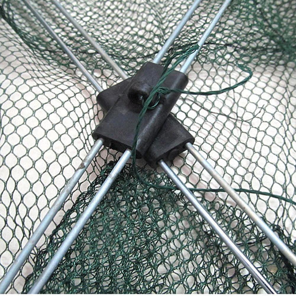 Image 4 - Portable 60*60cm Folding Fishing Net Nylon Network Shrimp Fish Net Casting Net Fishing Cage Outdoor Fishnet-in Fishing Net from Sports & Entertainment