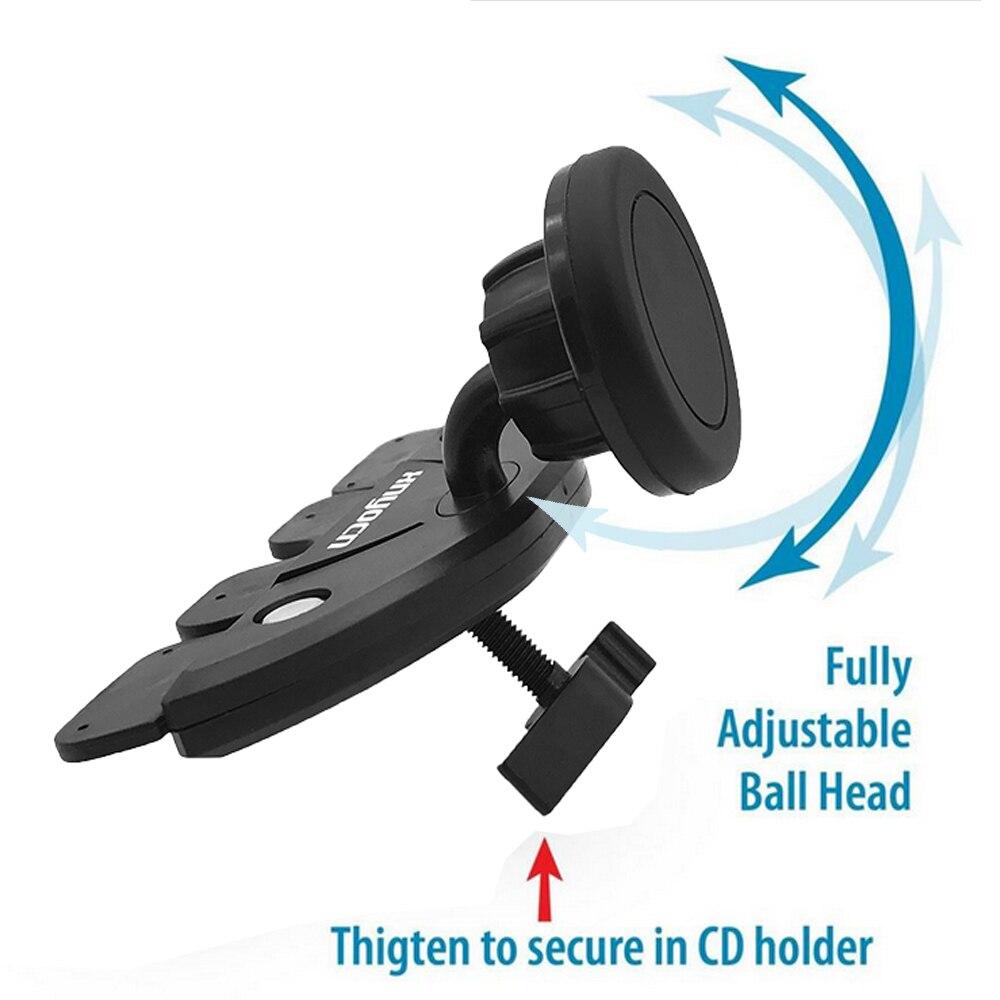 För Samsung Universal Magnetic Car Air Vent Mount CD Slot - Reservdelar och tillbehör för mobiltelefoner - Foto 2