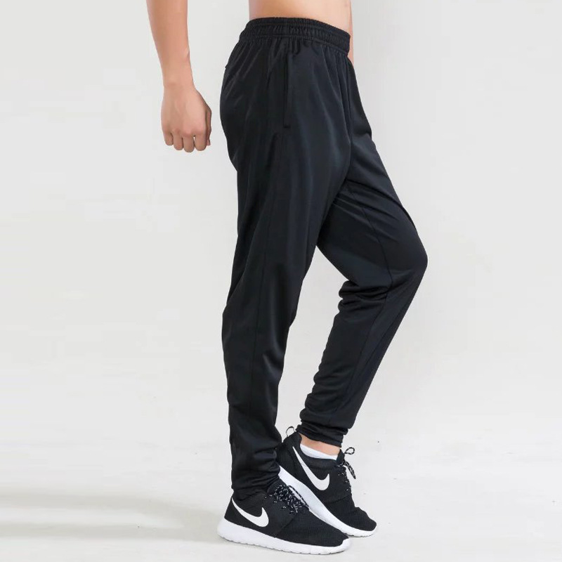 Jogger Pants Football Training 2017 Black Soccer Pants Active Jogging Trousers Sport Running Track GYM clothing Mens Sweatpant
