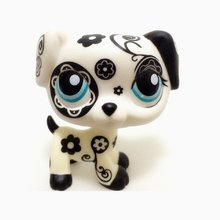 Pet Shop Lps Speelgoed Hond Great Dane Collection Real Wit Bruin Oude Puppy Littlest Animal Figuur Leuke Kind Gift Speelgoed(China)