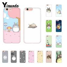 Yinuoda Totoro popular cute funny cartoon anime DIY Luxury Case for iPhone8 7 6 6S Plus X XS MAX 5 5S SE XR 10 11 11pro 11promax yinuoda macaroons and cupcakes cute girly diy luxury case for iphone 8 7 6 6s plus x xs max 5 5s se xr 10 11 11pro 11promax