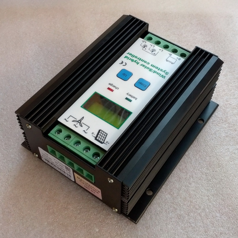 Wind Solar Hybrid Charge Controller 12V 24V = 500W 400W 300W wind turbine generator controller+400W PV solar panels controller wltoys 12402 rc cars 1 12 4wd remote control drift off road rar high speed bigfoot car short truck radio control racing cars