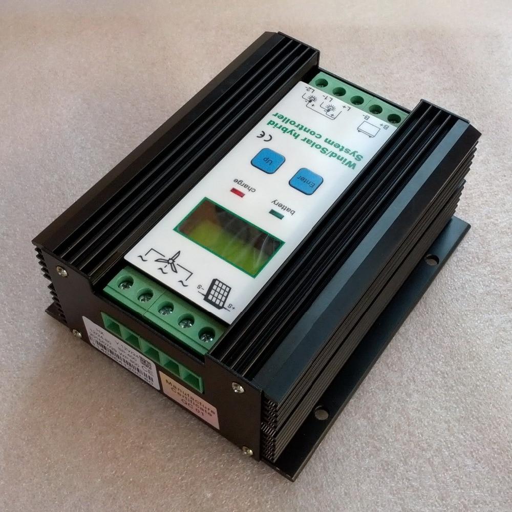 Wind Solar Hybrid Controller 40A 800W MPPT Solar Power 300W+Wind Generator 500W 12V 24V Intelligent Hybrid Charge Controller ароматизатор aroma wind 002 a