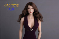 GACTOYS GC008 1/6 Asian Star Lin Chiling Head Sculpt for 12inch Phicen Jiaoudoll Verycool Uniquedoll Action Figure DIY